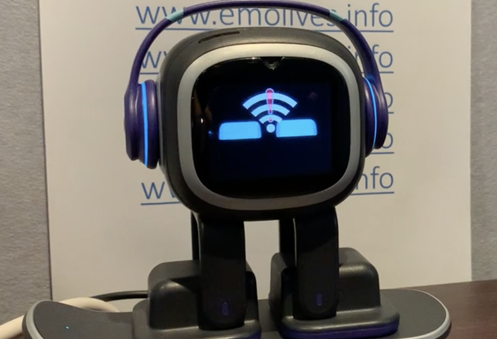 EMO likes Wifi but does not need it for everything